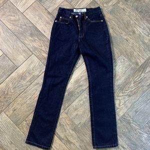 Vintage Guess Dark Denim Bootleg low waist 060 -